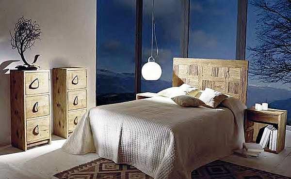Кровать NATURE DESIGN  (FRANCO MARIO) NDL3