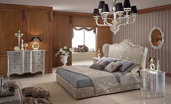 Кровать PIERMARIA silver Night collection
