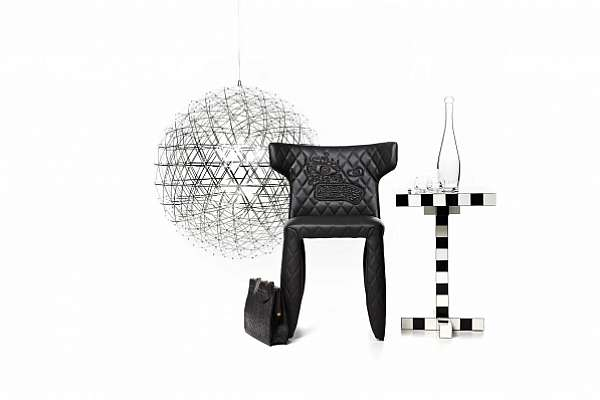 Стул MOOOI Monster Chair DM with embroidery, arms