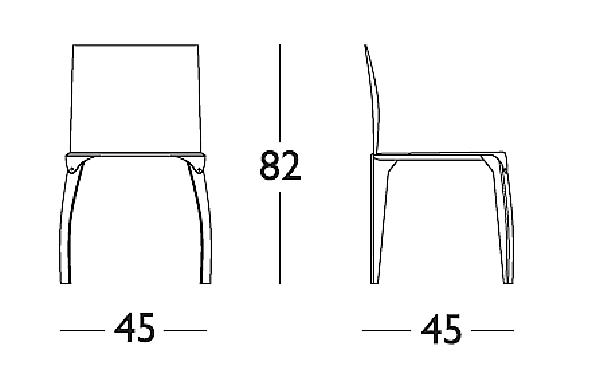 Стул LONGHI (F.LLI LONGHI) 136_1